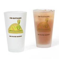 2-3 IN RGT WITH TEXT Drinking Glass