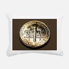 One_Dime_4.5x6.5 Rectangular Canvas Pillow