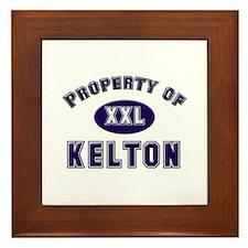 Property of kelton Framed Tile
