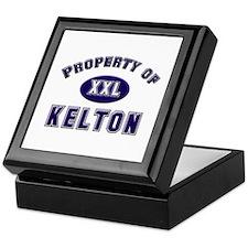 Property of kelton Keepsake Box