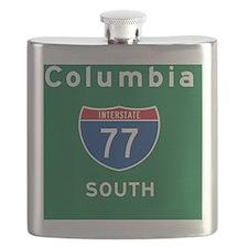 Columbia 77 Rec Mag Flask
