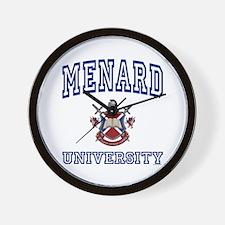 MENARD University Wall Clock
