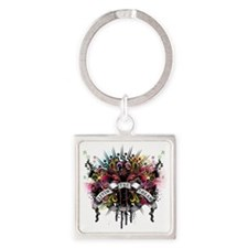 LivinTheDream Square Keychain