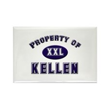 Property of kellen Rectangle Magnet