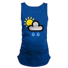 showers002onW-brighterRain Maternity Tank Top