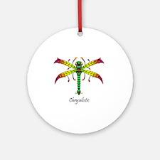 Meadowlantern Dragonfly tshirt Round Ornament
