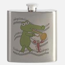ALLIGATORBUGLE Flask
