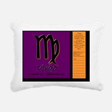 sun_09-virgo Rectangular Canvas Pillow
