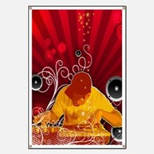 Urban dj small poster size Banner