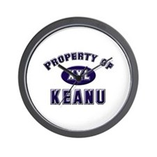 Property of keanu Wall Clock