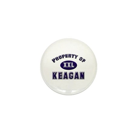 Property of keagan Mini Button