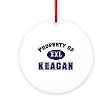 Property of keagan Ornament (Round)
