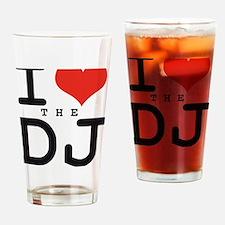 i love the DJ Drinking Glass