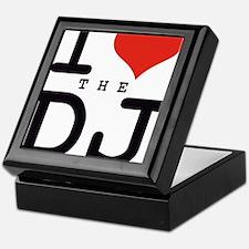 i love the DJ Keepsake Box