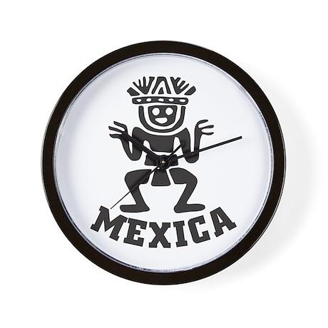 Mexica Wall Clock