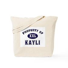 Property of kayli Tote Bag