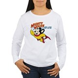 Mighty mouse t Long Sleeve T Shirts