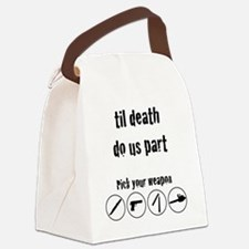 til_death_do_us_part-01 Canvas Lunch Bag