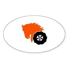wheelhorse power Oval Decal