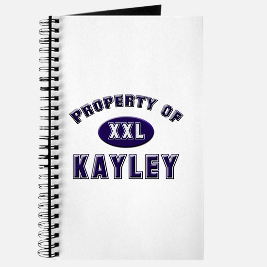Property of kayley Journal