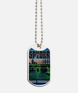 Spyder greeting card Dog Tags
