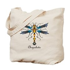Icefire Dragonfly pillow Tote Bag