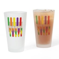 popsicles-darkshirts Drinking Glass