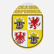 Mecklenburg-Vorpommern COA Oval Ornament