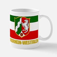 Nordrhein-Westfalen (Flag  COA) Mug