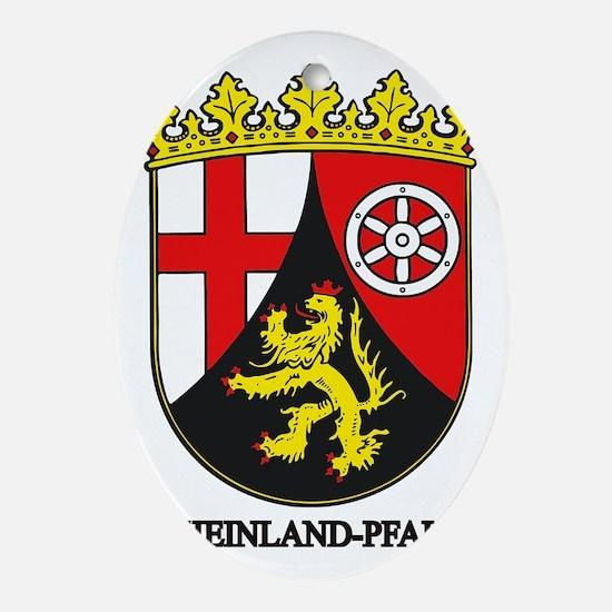 Rheinland-Pfalz Oval Ornament