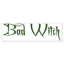 Bad Witch Bumper Sticker