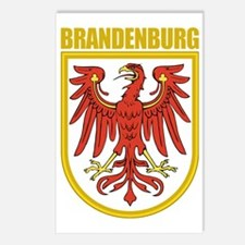 Brandenburg (gold) Postcards (Package of 8)