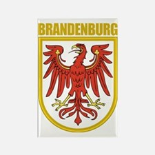 Brandenburg (gold) Rectangle Magnet