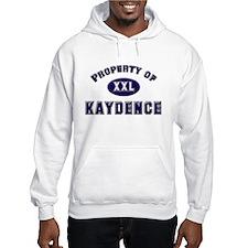 Property of kaydence Hoodie