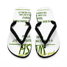 Wesh back2b Flip Flops
