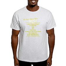 Wesh back reverse T-Shirt