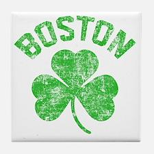 Boston Grunge - dk Tile Coaster