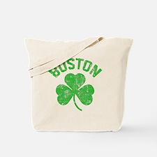 Boston Grunge - dk Tote Bag