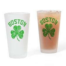 Boston Grunge - dk Drinking Glass