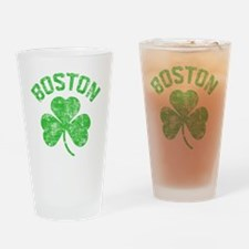 Boston Grunge - dk Drinking Glass