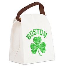 Boston Grunge - dk Canvas Lunch Bag