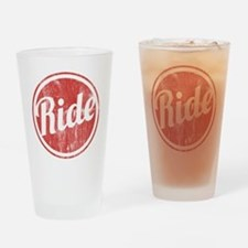 Vintage_Ride Drinking Glass