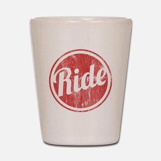 Vintage_Ride Shot Glass