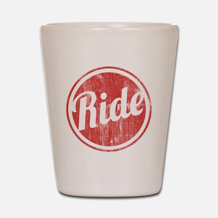 Vintage_Ride Shot Glass