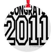 CONGRATS 2011 Ornament