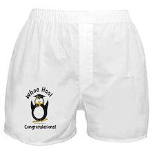 whoo hoo congratulations Boxer Shorts