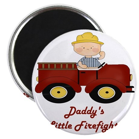 Daddys Little Firefighter1 Magnet