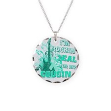Im Rockin Teal for my Cousin Necklace