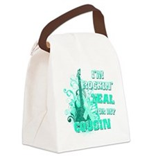 Im Rockin Teal for my Cousin Canvas Lunch Bag