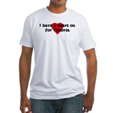 Heart on for Victoria Shirt